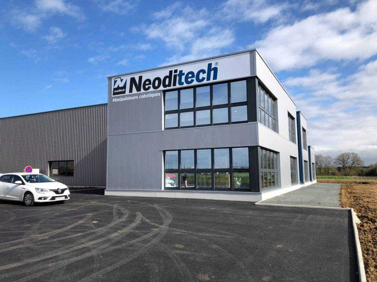 Un tout nouveau bâtiment pour <strong><i>NEODITECH</i></strong>