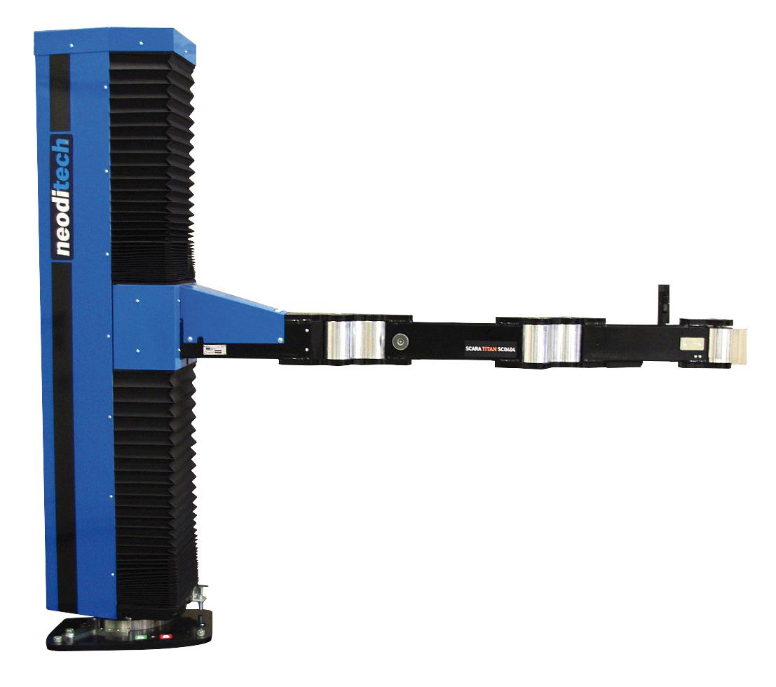 SC0423 – Bras SCARA TITAN électrique 100 kg – salle blanche / AGRO