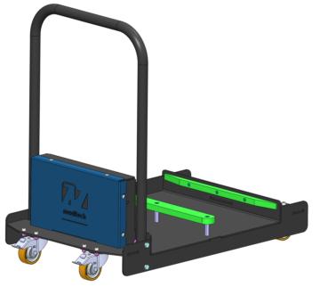 Châssis pour pack batteries interchangeables