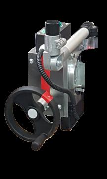 Fonction rotation/basculement manuelle par manivelle 50 kg