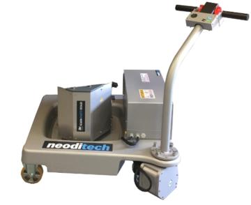 Socle mobile roue autonome 50 kg – salle blanche / AGRO