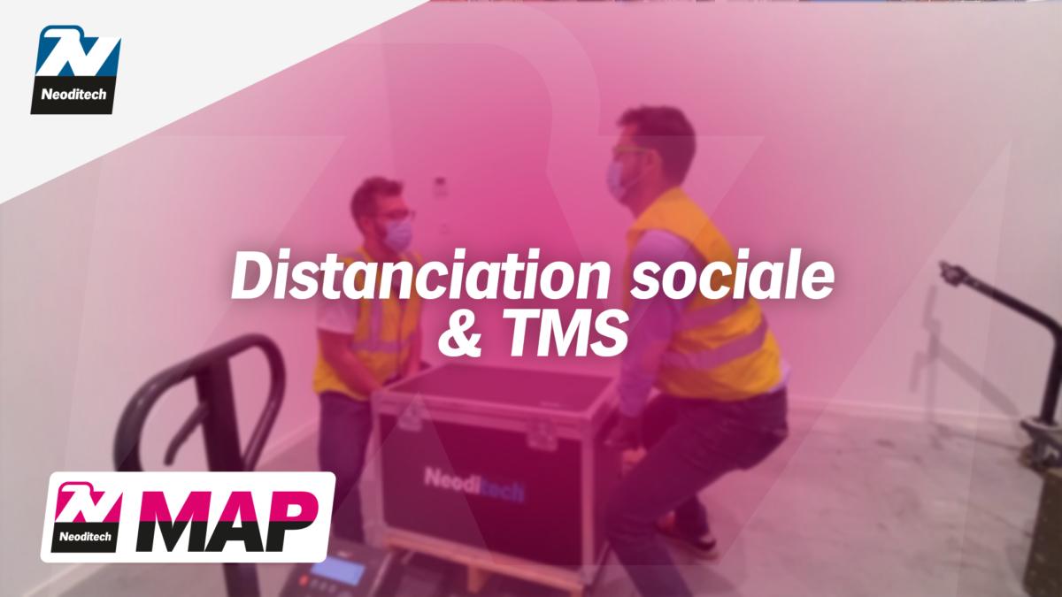 Maintenez la distanciation sociale avec le MAP <strong><i>NEODITECH</i></strong>