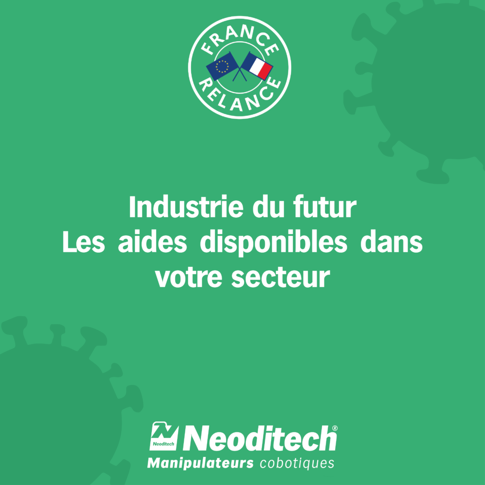 Dispositifs d'aide <strong>Industrie du futur</strong>