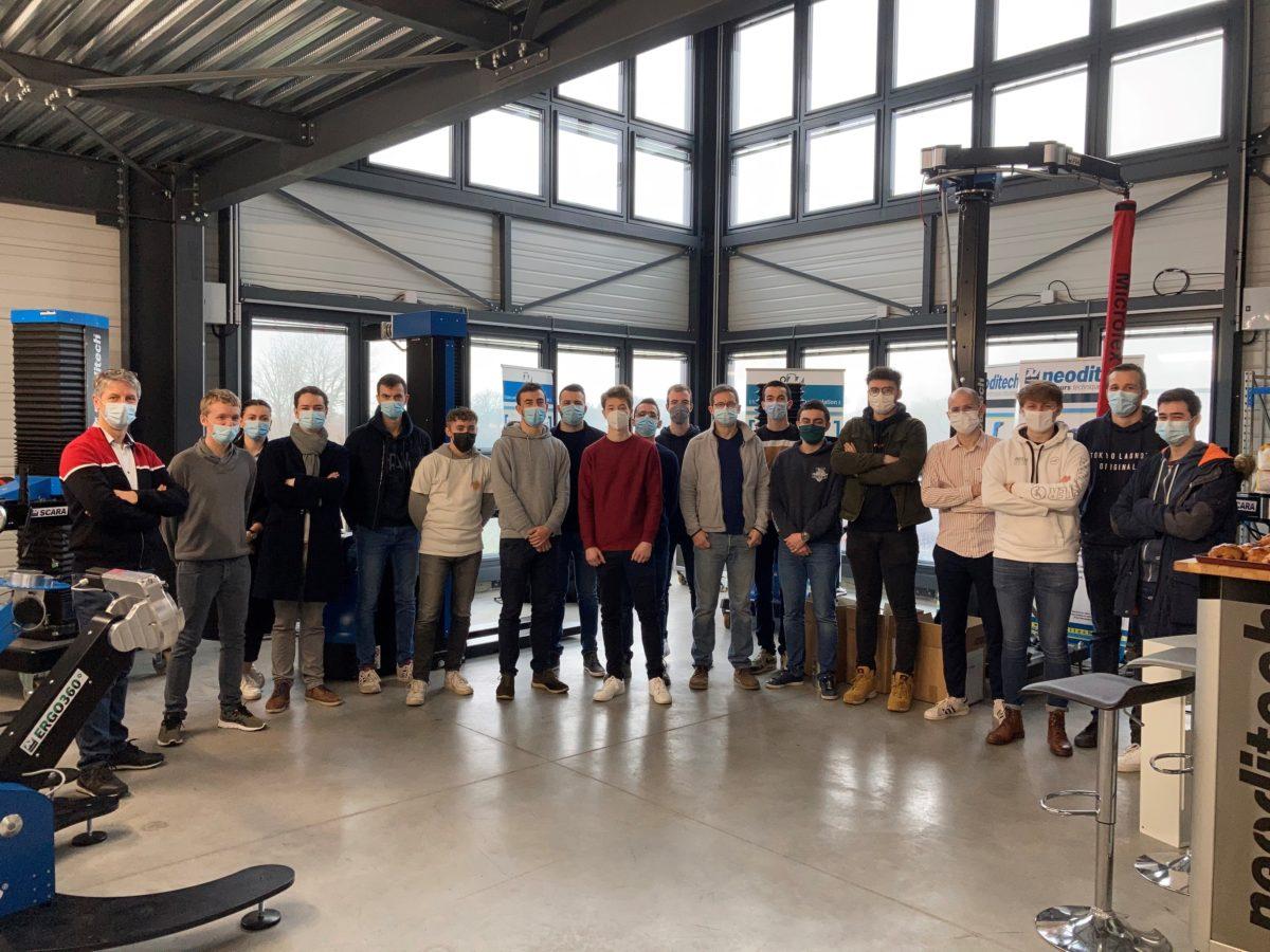 Workshop de conception mécanique avec l'IUT de Nantes
